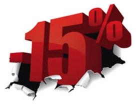 PROFITEZ D'UNE REMISE DE 15-20% SUR VOS RÉSERVATIONS ANTICIPÉES!