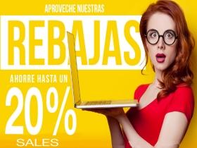 REBAJAS DE INVIERNO 20% DESCUENTO