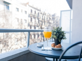 PACK PREMIUM EN CHAMBRE DOUBLE SUPÉRIEURE AVEC BALCON - Petit déjeuner inclus