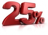 ENJOY OUR SPECIAL 25% DISCOUNT FOR MINIMUM STAYS OF 4 NIGHTS
