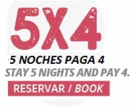 ENJOY YOUR STAY OF 5 NIGHTS FOR THE PRICE OF 4!!!