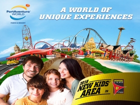 ENJOY OF ONE NIGHT OF STAY AND 1  DAY ENTRANCE TO PORTAVENTURA AND FERRARI LAND