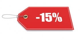 SPECIAL OFFER 15% DISCOUNT