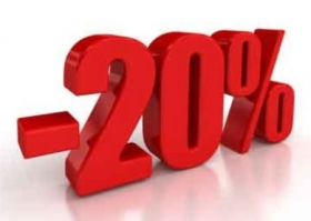20% OFF FOR YOUR EARLY BOOKINGS!