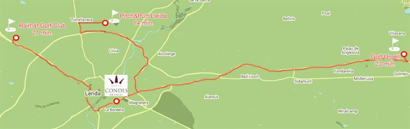 mapa golf