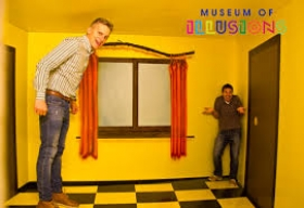 WE GIVE TICKETS FOR THE MUSEUM OF ILLUSIONS